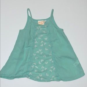 Jumping Beans Girl's Tank Top, Pale Green, Size 4